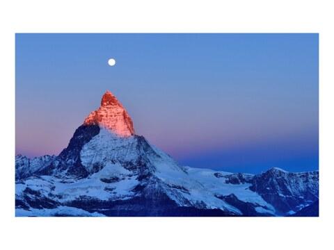 Gluehendes Matterhorn