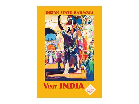 Indian State Railways - Visit India