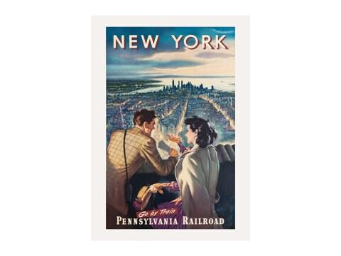 New York - Go by Train / Pennsylvania Railroad