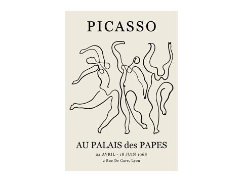 Picasso - Au Palais des Papes