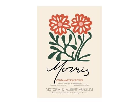 William Morris - Blumenmuster
