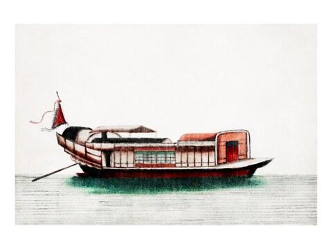 Chinesische Malerei eines