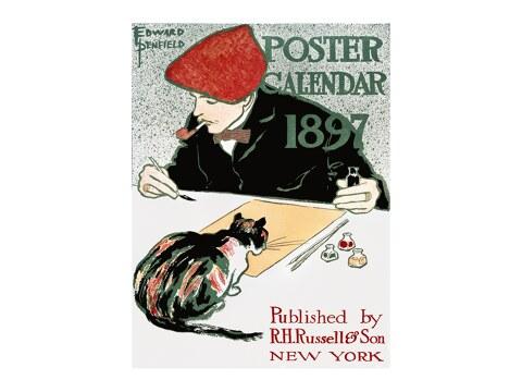 Posterkalender von Edward Penfield
