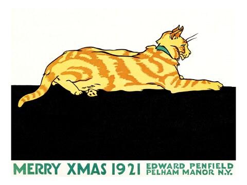 Frohe Weihnachten von Edward Penfield