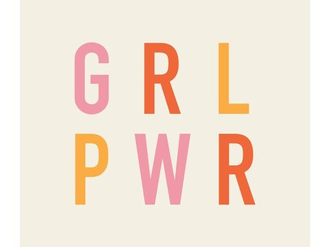 Girl Power Color