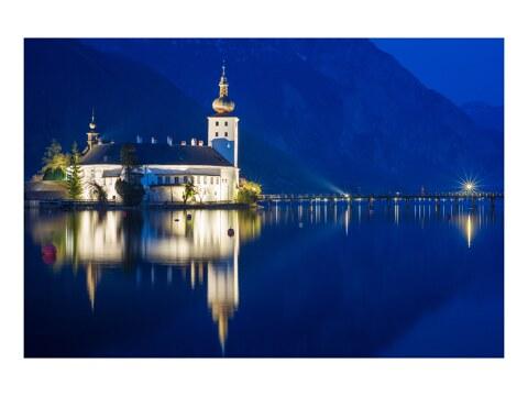 Blaue Stunde in Gmunden