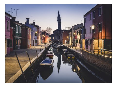Burano Canal Study Venedig