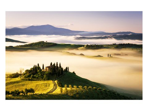 Nebel in Val D'orcia