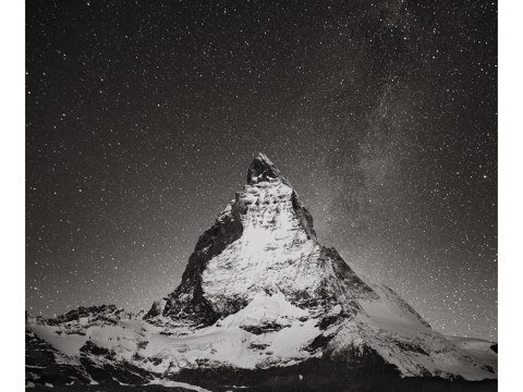 Matterhorn bei Nacht