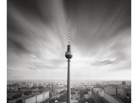 Langzeitbelichtung Fernsehturm