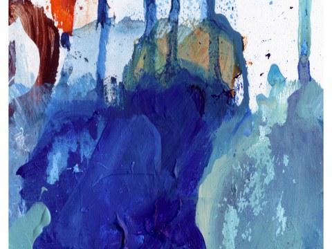 abstrakt Kleckse