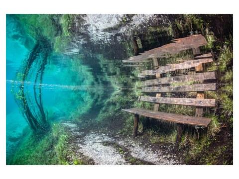 Bank Unterwasser Bild