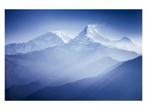 Annapurna Berg Panorama