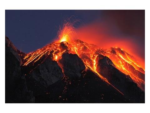 Vulkan Foto