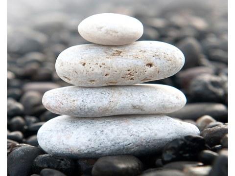 Bild mit Steinen