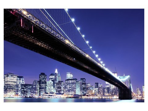 Brooklyn Bridge schwarz weiß