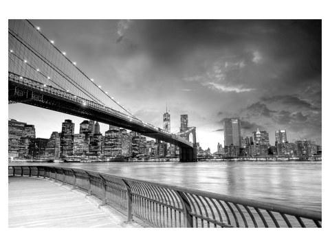 Brooklyn Bridge im Sonnenaufgang