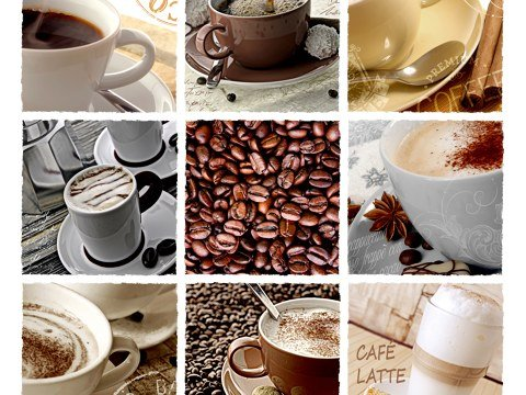 Kaffee Collage