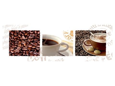 Collage Kaffee Bohnen