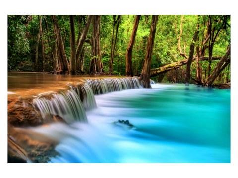 Flussbett Bild