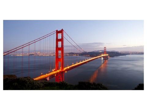 Golden Gate Bridge Bilder Dämmerung