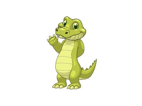 Krokodil Kinderbild