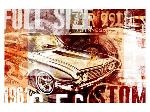 Muscle Car Bild