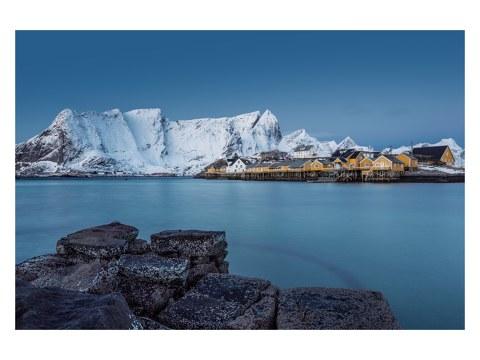Winterlandschaft Lofoten