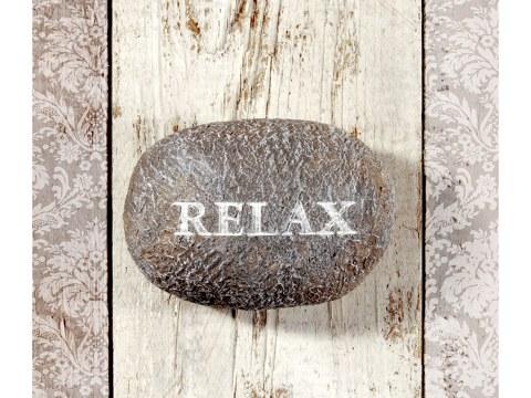 Relax Stein Bild