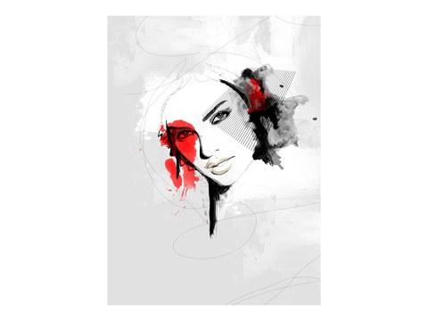 Frau Porträt Design