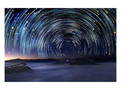 Sternenspirale Foto