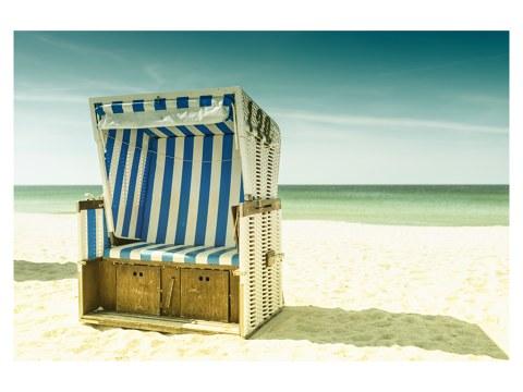 Strandkorb Motiv