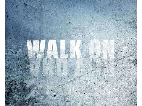 Walk On Spruch