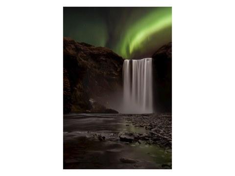 Wasserfall Irrlichter Bild