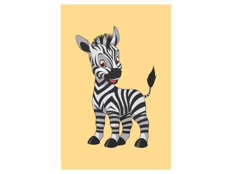 Zebra Kinderbild