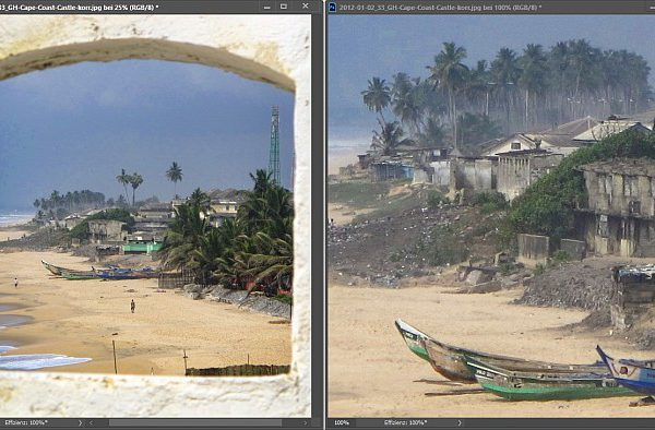 Bilder zoomen mit Bildprogramm