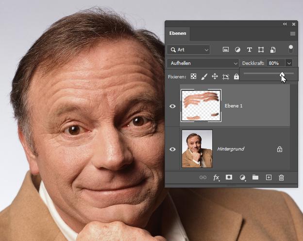 Fotos retuschieren mit der Ebenen-Technik