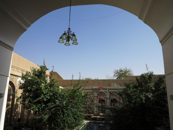 Traditional Hotel Kohan Kashaneh Yazd Central Iran