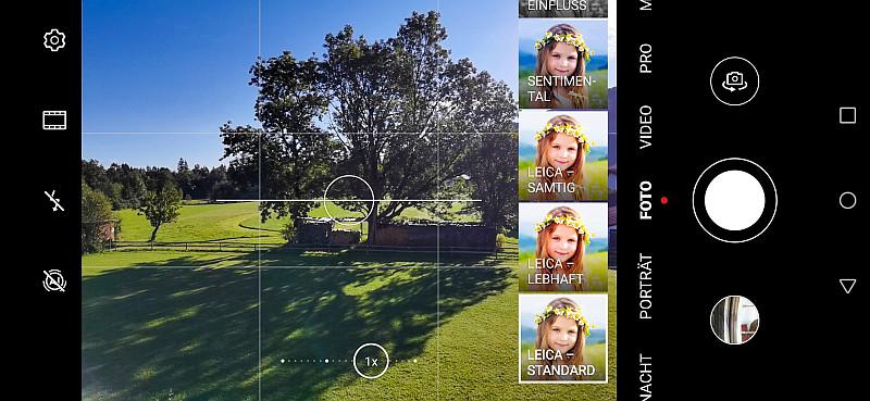 Handy-Bilder: Bildstimmung ändern