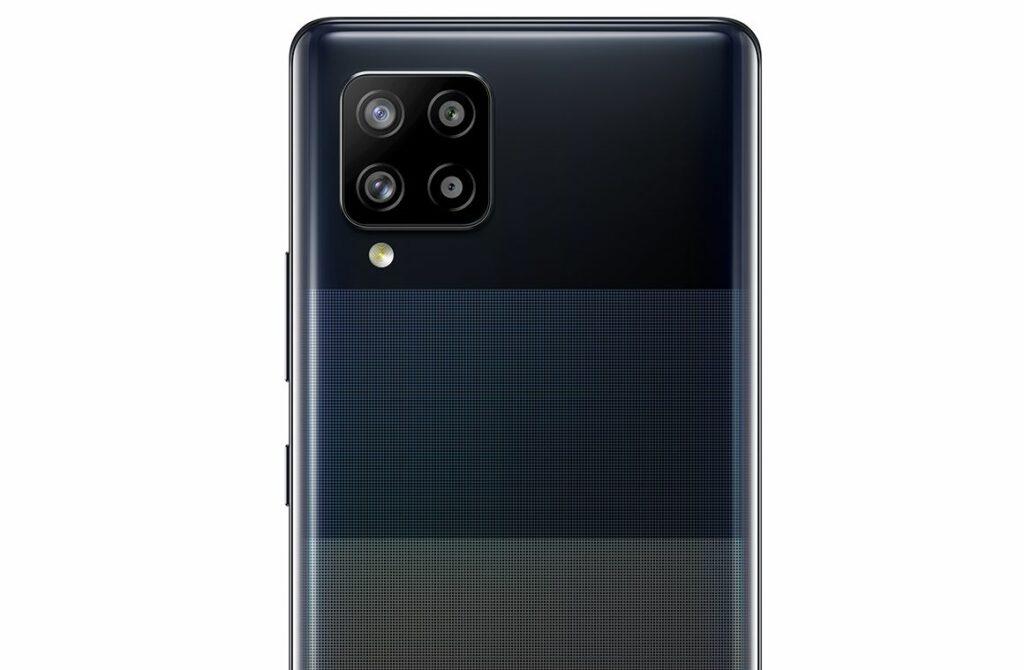 Smartphone GalaxyA42 mit mehreren Objektiven