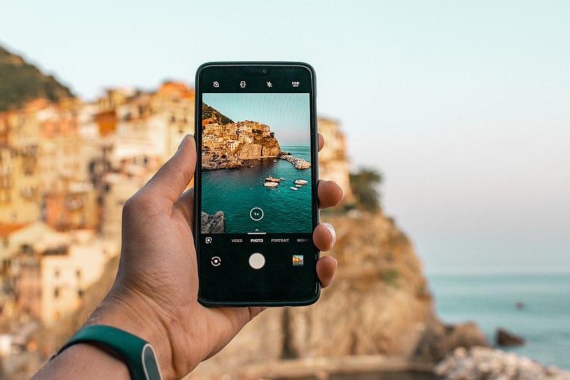 Handy-Bilder / Smartphone-Fotografie: Landschaften lassen sich gut per Handy fotografieren