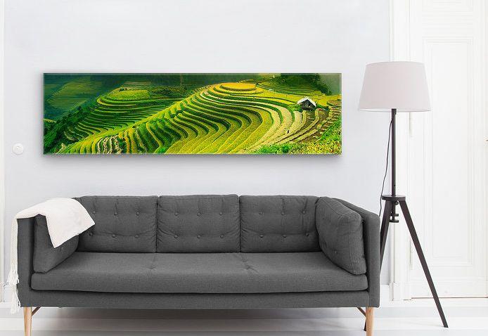 Bildauflösung für große Drucke wie Panoramabilder