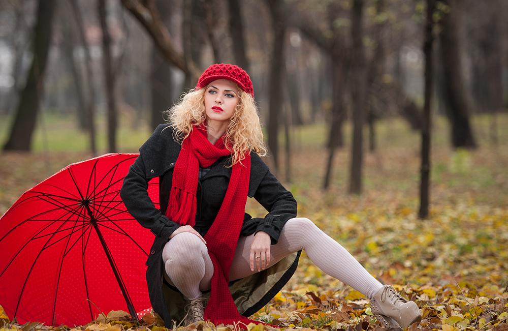 Model Bokeh Foto