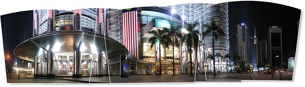 Panorama Bild Fächer