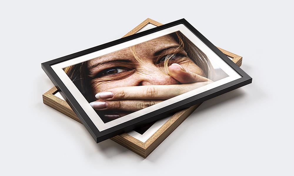 Bilder im Rahmen für den Bokeh Effekt