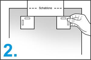 1-schritt-metall-aufhänger-set