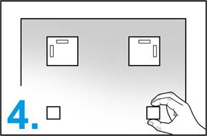 4-schritt-metall-aufhänger-set