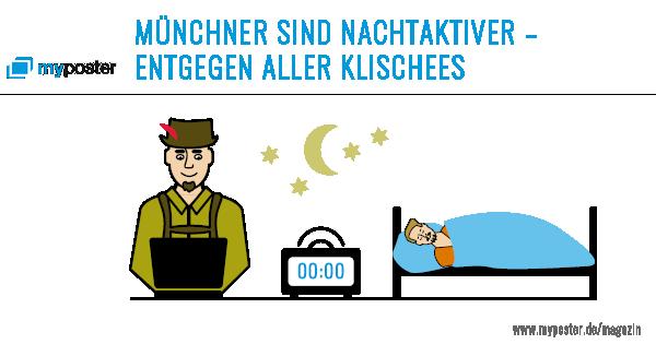 Münchner sind Nachtaktiv