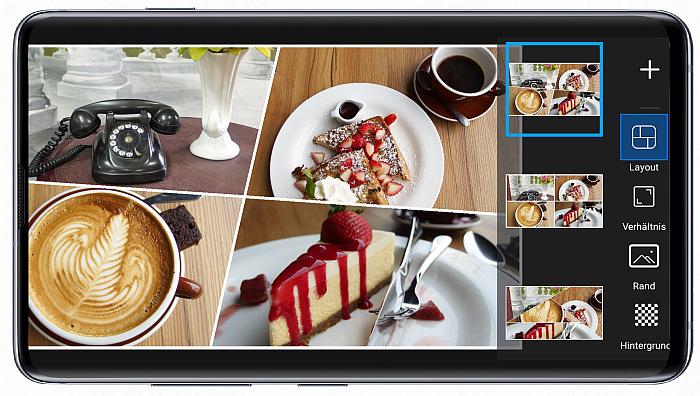 Collagen am Handy mit PicsArt entwerfen