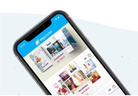 myposter App für Collagen